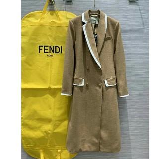 フェンディ(FENDI)のFENDI フェンディ ジャケット ロングコート (ロングコート)