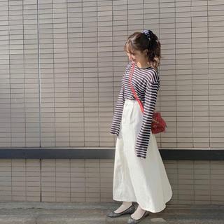 GU - 小嶋真子ちゃん着用 デニムロングスカート
