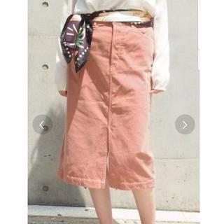 スピックアンドスパン(Spick and Span)のスピックアンドスパン コーデュロイタイトスカート サイズ34  (ひざ丈スカート)