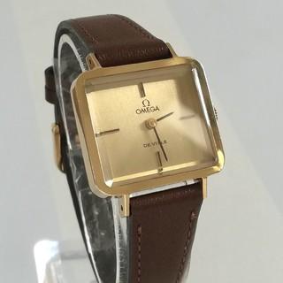 オメガ(OMEGA)の綺麗 オメガ 新品レザー 時計 レディース ウォッチ 卒業式や七五三にも 美品(腕時計)