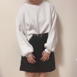 メルロー(merlot)のボリューム袖トップス(カットソー(長袖/七分))
