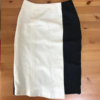 チェスティ(Chesty)のchesty  チェスティ  バイカラー  スカート(ひざ丈スカート)