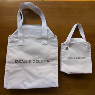 ディーンアンドデルーカ(DEAN & DELUCA)の【最終価格】グロウ 2017年8月号付録 ディーンアンドデルーカ保冷バッグ 2個(弁当用品)
