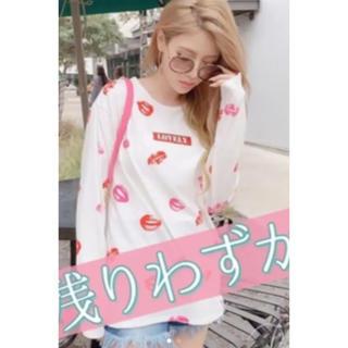 レディー(Rady)のRadyリップロンT(Tシャツ(長袖/七分))