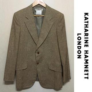 キャサリンハムネット(KATHARINE HAMNETT)の KATHARINE HAMNETT LONDON ジャケット シルク ツイード(テーラードジャケット)