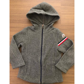 MONCLER - モンクレール キッズ  フリースパーカー 3y 98㎝  グレー