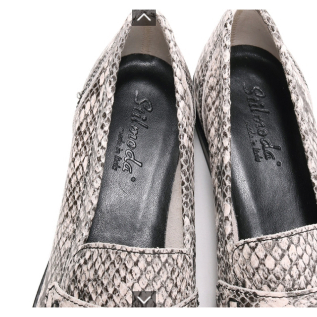 mystic(ミスティック)のmystic パイソンローファー レディースの靴/シューズ(ローファー/革靴)の商品写真