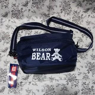 wilson - 未使用 ウィルソンポシェット 紺色