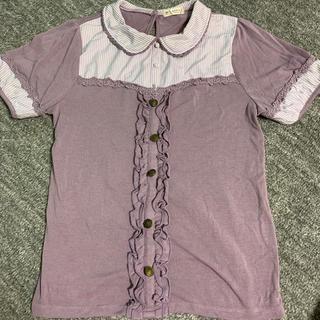 アクシーズファム(axes femme)のパフ袖カットソー(カットソー(半袖/袖なし))