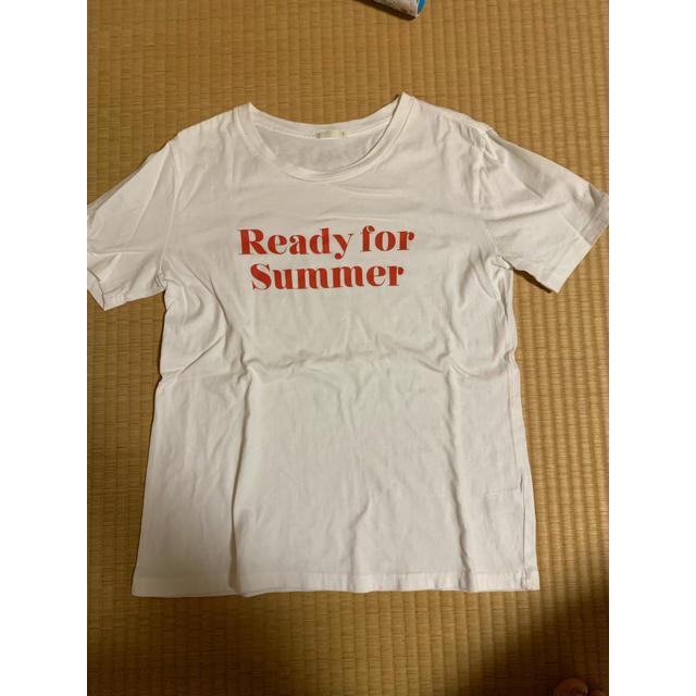 GU(ジーユー)のTシャツ GU レディースのトップス(Tシャツ(半袖/袖なし))の商品写真