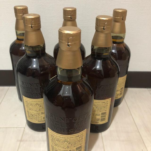 サントリー(サントリー)の山崎12年 × 6本 食品/飲料/酒の酒(ウイスキー)の商品写真