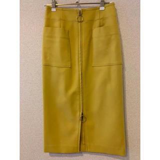 Noble - ノーブル ジップアップタイトスカート 34