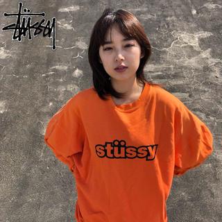 STUSSY - 【オススメ】ステューシー デカロゴ スウェット トレーナー