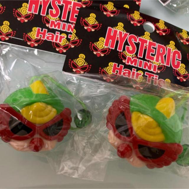 HYSTERIC MINI(ヒステリックミニ)の新品ヒステリックミニヘアゴム2個 レディースのヘアアクセサリー(ヘアゴム/シュシュ)の商品写真