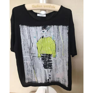 ZARA - ザラ レディース ブラック Tシャツ