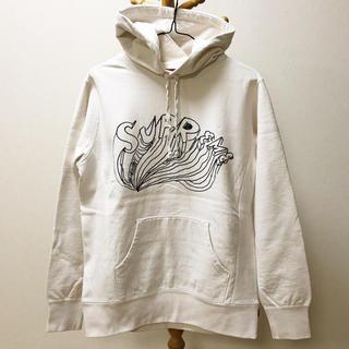 シュプリーム(Supreme)のdaniel johnston logo hooded sweatshirt(パーカー)