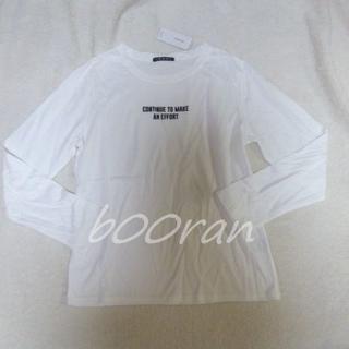 イング(INGNI)のINGNI♡ロゴロンT(Tシャツ(長袖/七分))