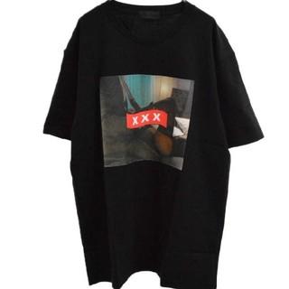 ジィヒステリックトリプルエックス(Thee Hysteric XXX)の新作新品 ゴッドセレクションXXX ブラックXL TEE (Tシャツ/カットソー(半袖/袖なし))