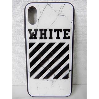 オフホワイト(OFF-WHITE)の定番のデザイン  OFF-WHITE  ストア内にもあります(iPhoneケース)