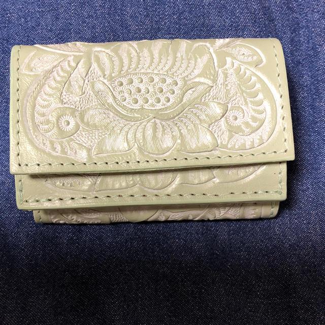 GRACE CONTINENTAL(グレースコンチネンタル)のカービングトライブス スモールウォレット レディースのファッション小物(財布)の商品写真