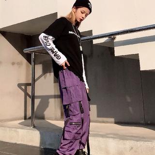 韓国&ピープス女子必見のカーゴパンツ‼️(ワークパンツ/カーゴパンツ)