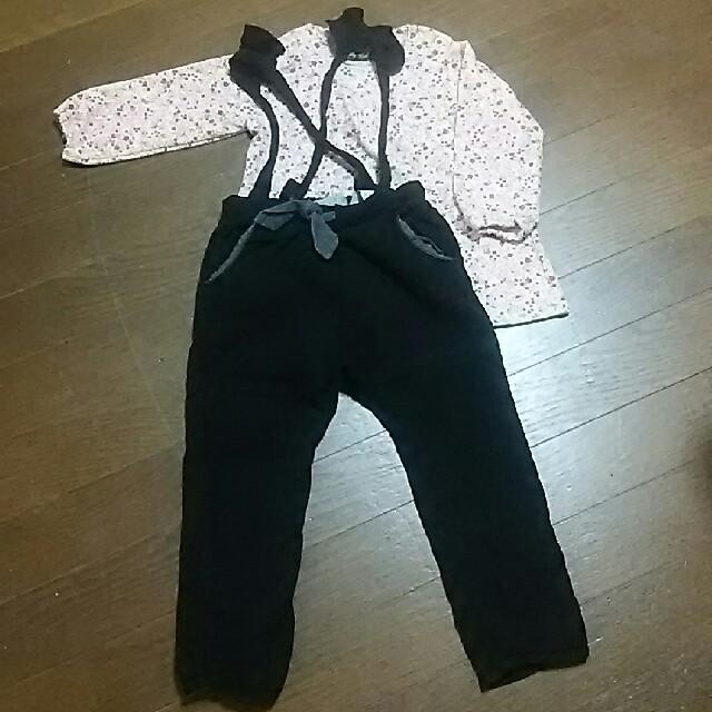 3can4on(サンカンシオン)の子供服まとめ売り(90)女の子 6枚 キッズ/ベビー/マタニティのキッズ服 女の子用(90cm~)(ワンピース)の商品写真