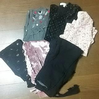 サンカンシオン(3can4on)の子供服まとめ売り(90)女の子 6枚(ワンピース)