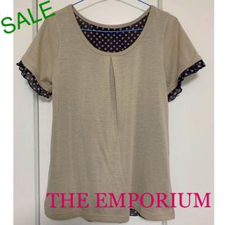ジエンポリアム(THE EMPORIUM)の落ち着いた色のカットソー(カットソー(半袖/袖なし))