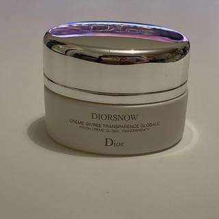 ディオール(Dior)のDior  スノーホワイトニング フレッシュクリーム(フェイスクリーム)