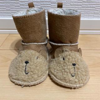 baby GAP  6-12m  ムートン ブーツ 靴 匿名配送 送料込み