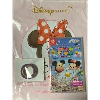 ディズニー(Disney)の限定マスキングテープ付 ディズニー ツムツム フェスティバル スイッチ(家庭用ゲームソフト)