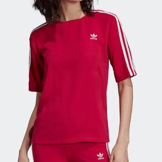 アディダス(adidas)のadidas 新品未使用 3ストライプ Tシャツ 格安出品 人気商品 完売品(Tシャツ/カットソー(半袖/袖なし))