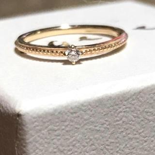 アガット(agete)の14000円から値下げ❣️agete リング ピンキーリング (リング(指輪))