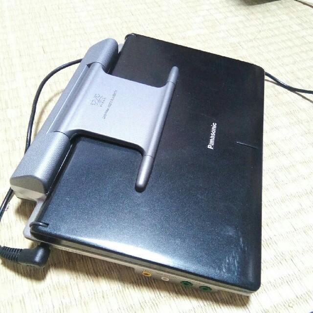 Panasonic(パナソニック)のパナソニック ポータブルDVDプレーヤー DVD-LX95 スマホ/家電/カメラのテレビ/映像機器(DVDプレーヤー)の商品写真