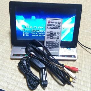 パナソニック(Panasonic)のパナソニック ポータブルDVDプレーヤー DVD-LX95(DVDプレーヤー)