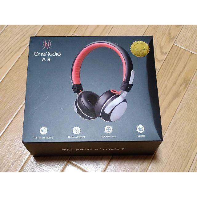 Bluetooth ワイヤレスヘッドフォン OneAudio A8 LED重低音 スマホ/家電/カメラのオーディオ機器(ヘッドフォン/イヤフォン)の商品写真