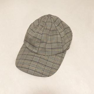 ローズバッド(ROSE BUD)の試着のみ☆ チェック CAP(キャップ)