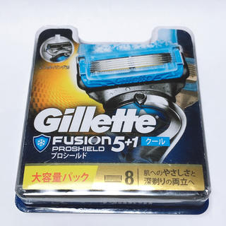 gilet - プロシールドクール(替刃 8個)| Gillette(ジレット)新品未開封