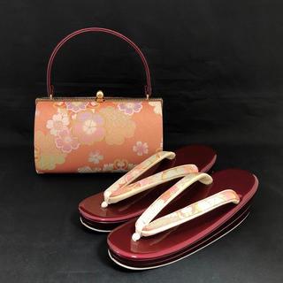 草履バッグ セット (新品) #672(下駄/草履)