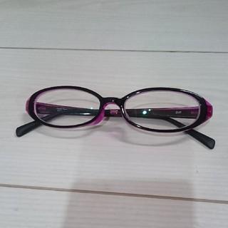 ゾフ(Zoff)のZoff 眼鏡 紫(サングラス/メガネ)