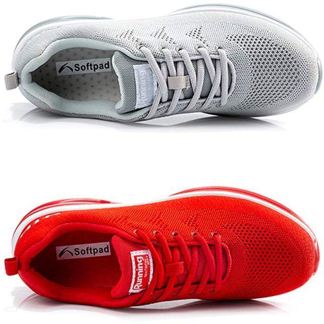 新品未使用 ランニングシューズ メッシュ素材 抗菌 カジュアル メンズレディース レディースの靴/シューズ(その他)の商品写真