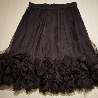 ドルチェアンドガッバーナ(DOLCE&GABBANA)のDOLCE&GABBANA チュール スカート(ひざ丈スカート)