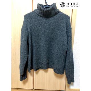 ナノユニバース(nano・universe)のナノユニバース♡ハイネック ニット(ニット/セーター)