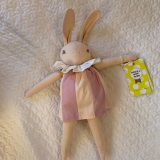 ボンポワン(Bonpoint)のpolka dot club medium rabbit peach(ぬいぐるみ/人形)
