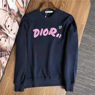 ディオール(Dior)の新品Diorスウェット/紺色(トレーナー/スウェット)