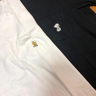 スヌーピー(SNOOPY)のユニクロ カウズ スヌーピー Tシャツ(Tシャツ/カットソー(半袖/袖なし))