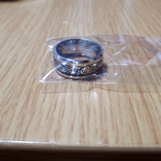 新品 メンズ 指輪 リング ブルー ゴールド チタン かっこいい(リング(指輪))