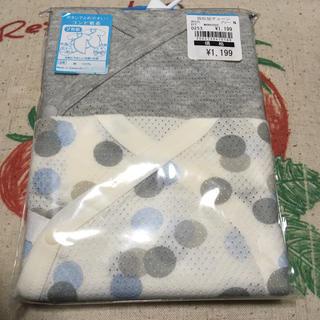 ニシマツヤ(西松屋)の新品★新生児 コンビ肌着 メッシュ 50〜60(肌着/下着)