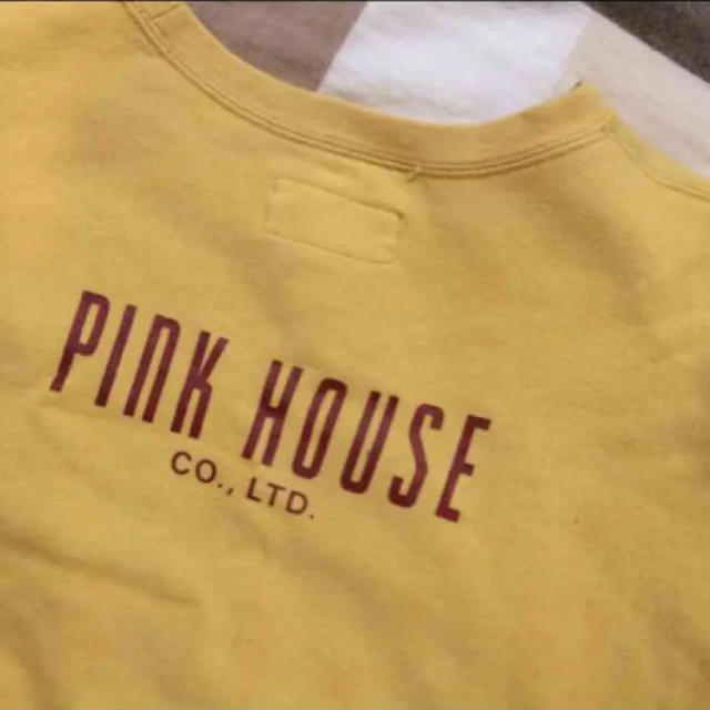 PINK HOUSE(ピンクハウス)のピンクハウス スウェット 黄色 レディースのトップス(トレーナー/スウェット)の商品写真