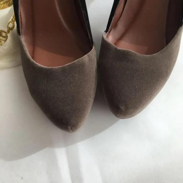 nano・universe(ナノユニバース)の美品 セントレアマラント パンプス 37 24.0 レディースの靴/シューズ(ハイヒール/パンプス)の商品写真